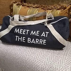 Handbags - Duffle Bag MEET ME AT THE BARRE